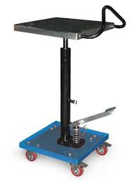 portable hydraulic lift table load