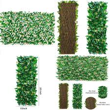Expandable Fence Privacy Screen For Balcony Patio Outdoor Faux Ivy Fencing Home For Sale Online Ebay