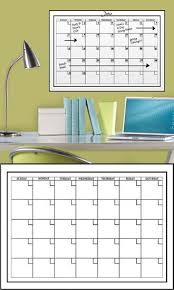 White Dry Erase Calendar Wall Decal Sticker Wall Decal Allposters Com