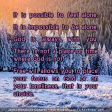inspirational quote about god s presence