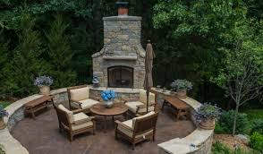 outdoor fireplace contractor glendale
