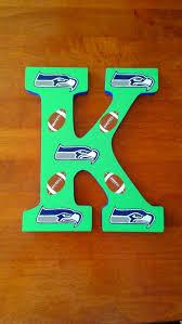 Seattle Seahawks Letters Custom Wall Letters Sports Letters Etsy