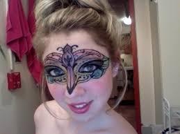 masquerade mask makeup tutorial long