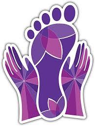 Amazon Com Skylabel Foot Massage Bumper Sticker Vinyl Art Decal For Car Truck Van Wall Window 8 X 10 Home Kitchen