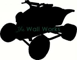 4 Wheeler Wall Sticker Vinyl Decal The Wall Works