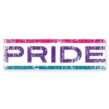 Bi Pride Bumper Stickers Cafepress
