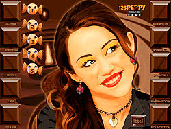 miley cyrus makeover game play