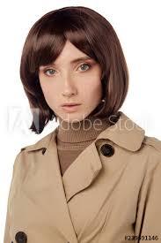pretty woman with blue eyes