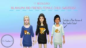 mod the sims rilaka and friends