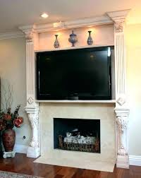 above mantel ideas fireplace with how