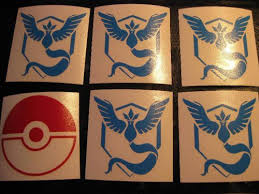 Sell Pokemon Go Team Mystic Pokeball Custom Vinyl Decal Sticker Car Window Nintendo Motorcycle In Cleveland Ohio United States For Us 9 99