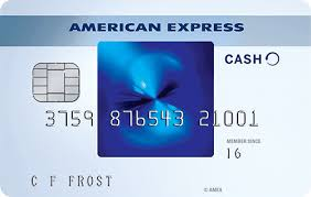 blue cash everyday credit card from