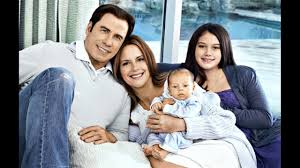 actor john travolta and his wife ...