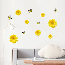 Oopsy Daisy Wall Decals Big Flower Art Black And White Vinyl Gerbera Vamosrayos