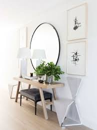 edgy and cool mirrors for your entryway