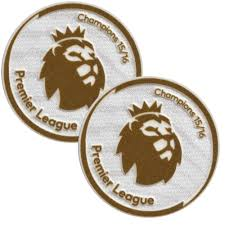 16-17 Premier League Champions Kids Patches - 65mm (Pair)