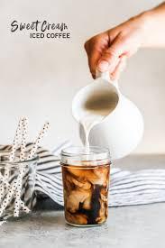 sweet cream iced coffee recipe sweetphi