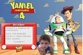 Invitaciones De Toy Story 3 Para Editar Imagui