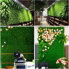 Awtang Artificial Hedges Screen Panels 60x40cm Artificial Ivy Leaf Hedge Privacy Screening Garden Fence Panel Roll 1 Pack Reasonable Amazon Co Uk Kitchen Home