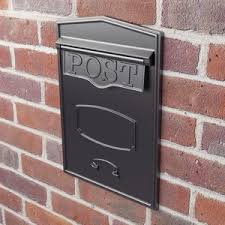 letter boxes and post boxes