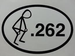 262 Sticker 262 Marathon 262 Stickman 4x6 William N Cuomoet