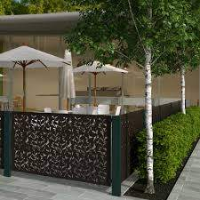 Buy Garden Screen Panels Contemporary Metal Fencing Burford Garden Company