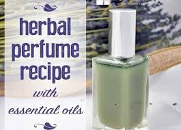diy perfume recipe with essential oils