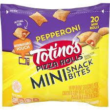 pepperoni pizza bites mini pizza