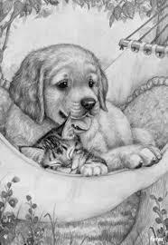 Kleuren Voor Volwassenen Dieren Tekenen Hond Tekeningen Dieren