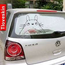 Totoro Car Decal Totoro Car Decals Car