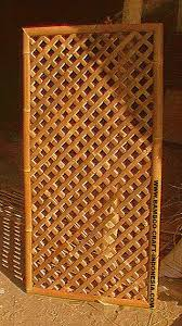 Bamboo Garden Fence Panel With Full Lattice Buy Cheap Bamboo Fence Panels Bamboo Weave Panel Cheap Fence Panels Product On Alibaba Com