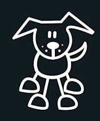 Decal Dog Amazon Com My Family Car Stick Figure Sticker Decal Pet Animal Dog Stick Figures Pet Dogs Animals