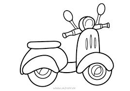 Tranh tô màu phương tiện giao thông đường bộ cho bé - JADINY.VN