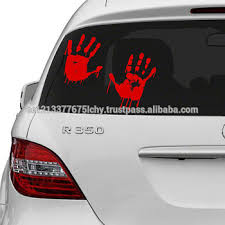 Vinyl Wall Decal Red Bloody Hands Design Blood Vampire Hand Art Decor Sticker Funny Walking Dead Car Decals Buy Vinyl Wall Decal Red Bloody Hands Design Blood Vampire Hand Art Decor Sticker Funny