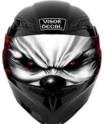 Amazon Com V10 Hulk Visor Tint Decal Graphic Sticker Helmet Fits Icon Shoei Bell Hjc Oneal Scorpion Agv Automotive