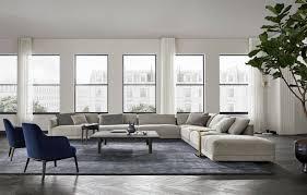 poliform bristol sofa deplain
