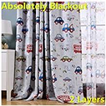 Amazon Com Car Curtains For Boys Room