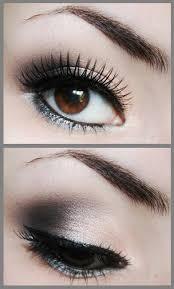 grey smokey eye makeup looks