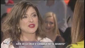 Aida, alias Candela ne Il Segreto, a Verissimo: