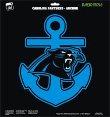 Carolina Panthers Anchor Keep Poundin Nfl Football Team Decal Sticker Car Truck Laptop Suv Window Team Decal Carolina Panthers Nfl Football Teams