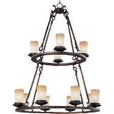 12 light oil rubbed bronze chandelier