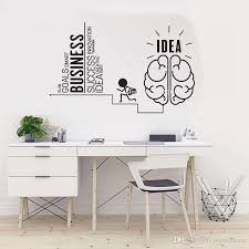 Vinyl Wall Decal Business Idea Home Office Inspirational Art Words Stickers Lettering Mural Diy Wall Sticker For Interior Sticker For The Wall Decoration Sticker For Wall From Joystickers 12 27 Dhgate Com