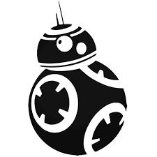 Star Wars Force Awakens Bb 8 Decal Sticker