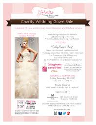 charity wedding gown brides