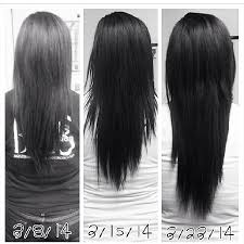 try my hair you want long