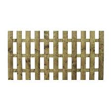 Waltons Est 4 X 6 4ft X 6ft 1878 4x6 Wooden Fencing Panels Picket Round Top Construction Dip Treated With 10 Year Guarantee 3 5 Day Delivery Decorative Fences