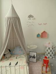 Light Grey Ins Hot Princess Canopy Bed Tent Curtains Kids Room Decoration Baby Bedding Cover Round Hung Dome Bed Mosquito Net Magnetic Fly Screen Best Mosquito Killer From Fs 001 66 33 Dhgate Com