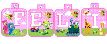 Kit Imprimible Baby Tv Tarjetas Cumpleanos Invitacion Cumple