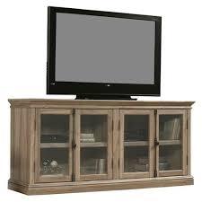 salt oak wood finish tv stand with