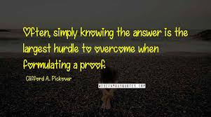 Clifford A. Pickover quotes: wise famous quotes, sayings and ...
